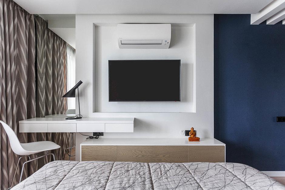 Телевизор в спальне. 4 идеи для Вашего дизайна - 1