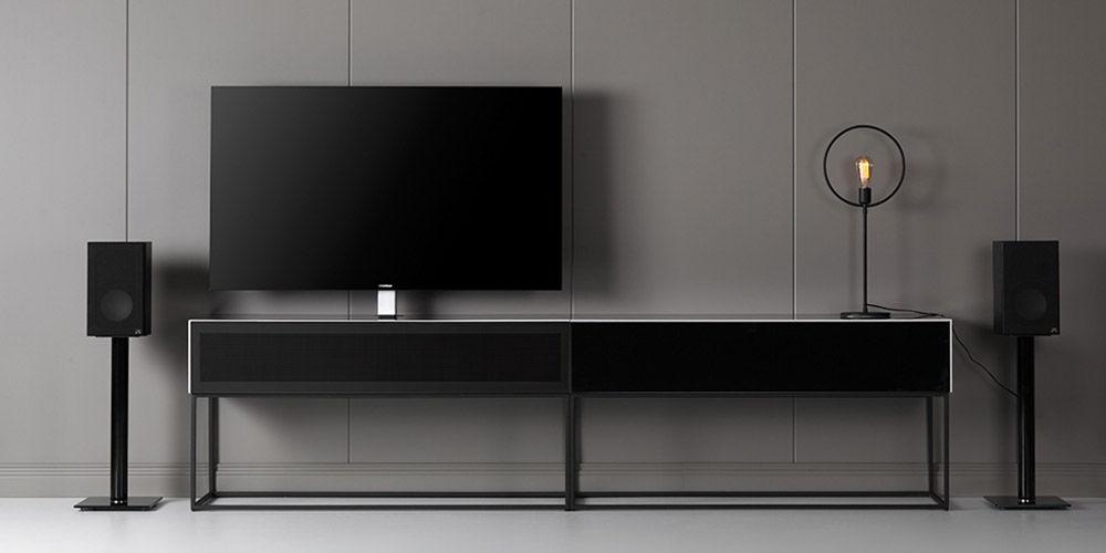 Тумба для телевизора и акустическая ткань: в чем преимущества? - 1