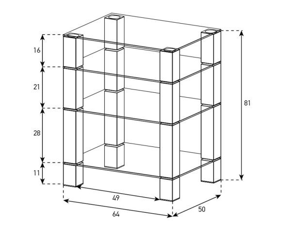 Схема стойки Sonorous RX-5040-Sonorous RX-5040-C-INX