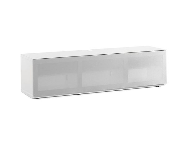 Тумба под телевизор Sonorous STA 160T-WHT-GRY-BS-front