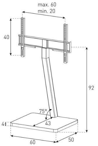 Схема СтойкиSonorous PL 2700-RED-SLV