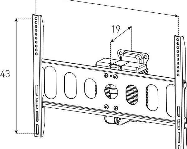 Схема Моторизированного крепления Sonorous Surefix 1460