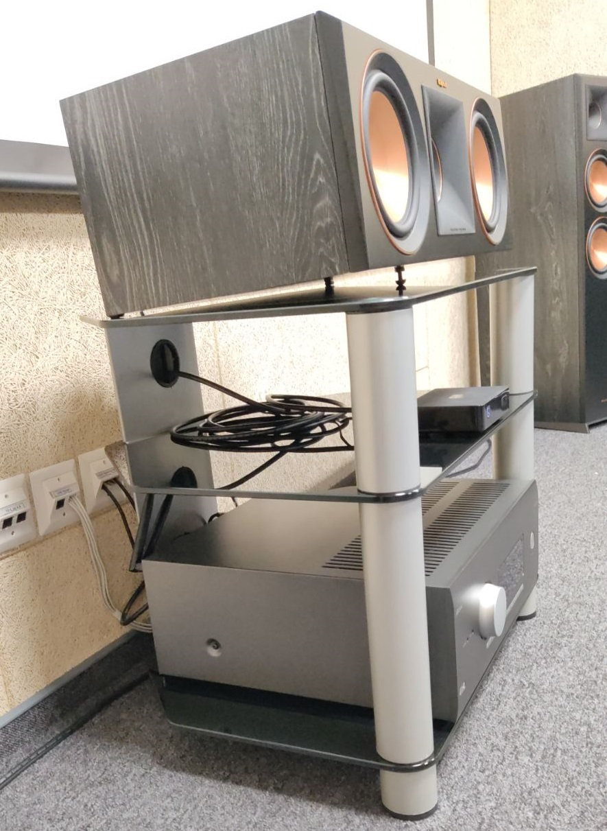 Стойка под Hi-Fi компоненты Sonorous RX 2140-C-SLV-from-client3