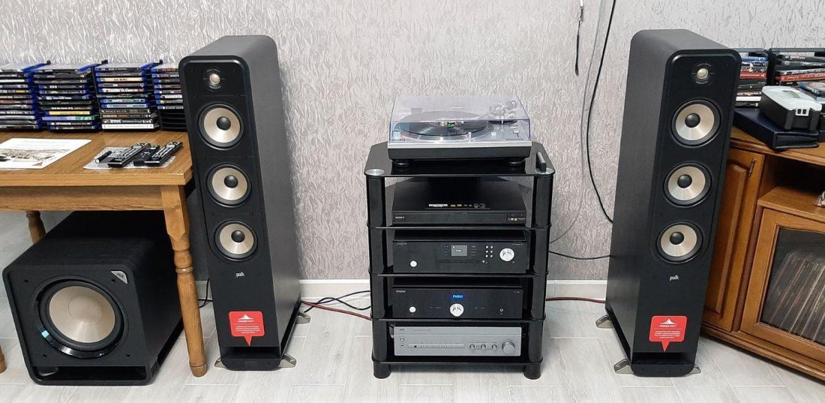 Стойка под Hi-Fi компоненты Sonorous RX 2150-B-HBLK
