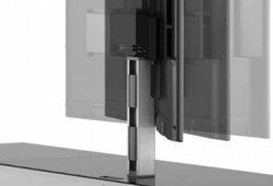 Стойка под ТВ Sonorous PL 2000-C-SLV поворотное крепление