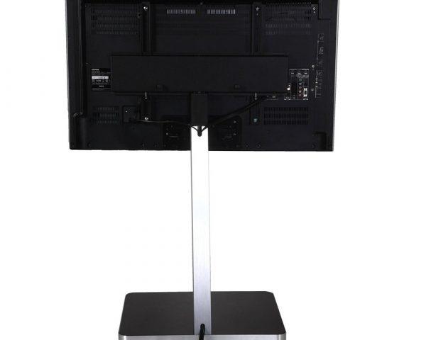 Стойка под телевизор Sonorous PL 2700-GRP-SLV вид сзади