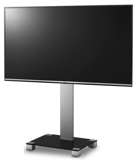 Стойка под ТВ Sonorous PL 2510-B-INX с телевизором