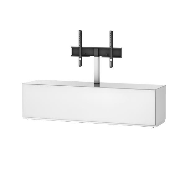 Тумба для ТВ с кронштейном Sonorous STA 161 белый корпус/фасад белое ДСП