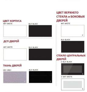 ТВ тумба Sonorous STA 200T (черная акустическая ткань) - 1