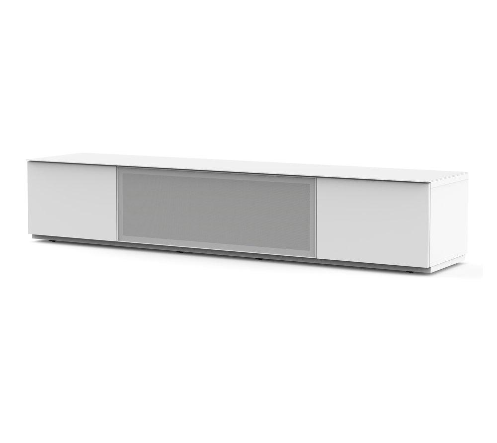 ТВ тумба Sonorous STA 200P (белый перфорированный метал)