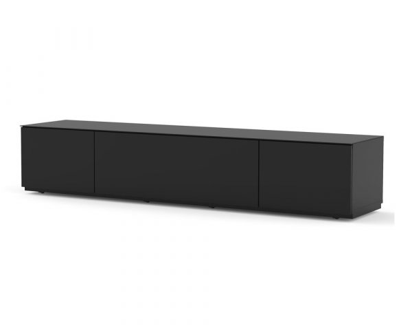 ТВ тумба Sonorous STA 200F (черный корпус в стекле)