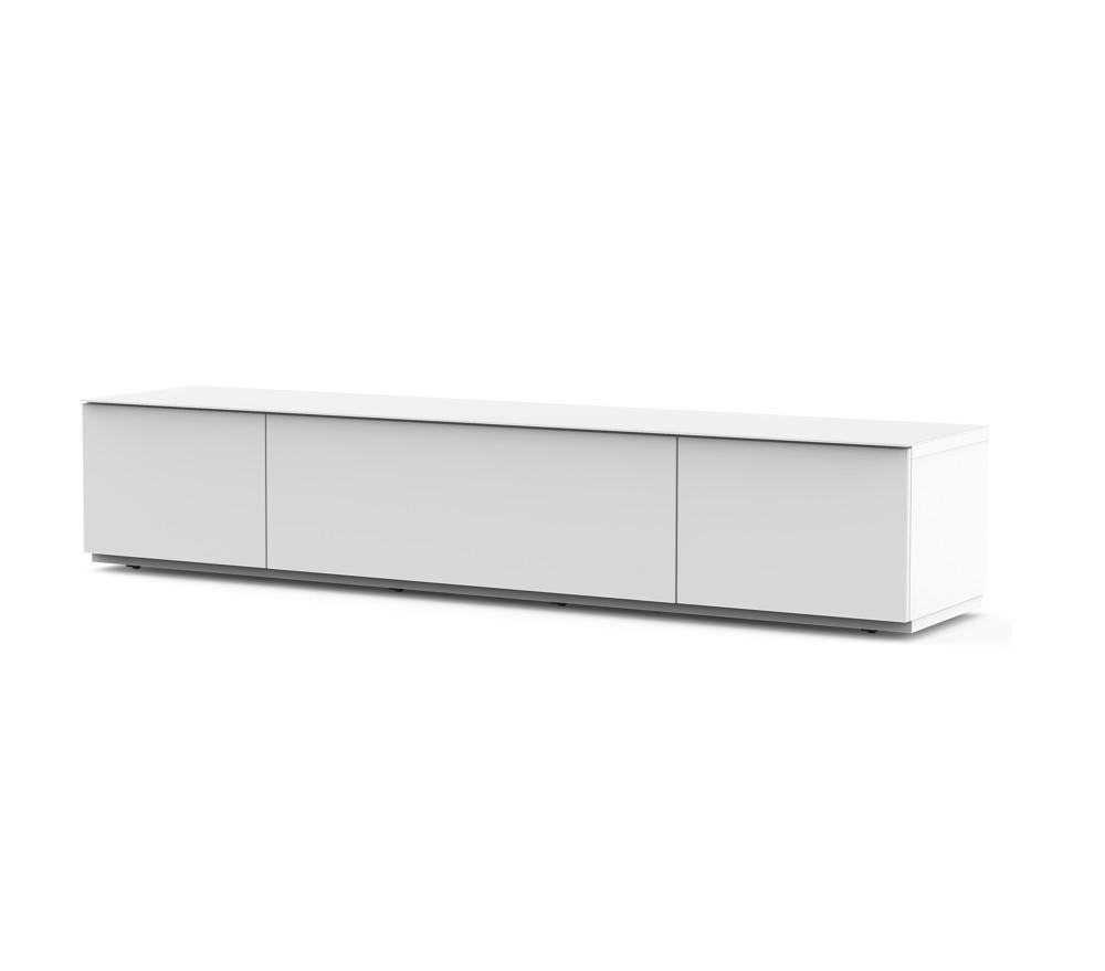ТВ тумба Sonorous STA 200F (сплошное белое стекло)