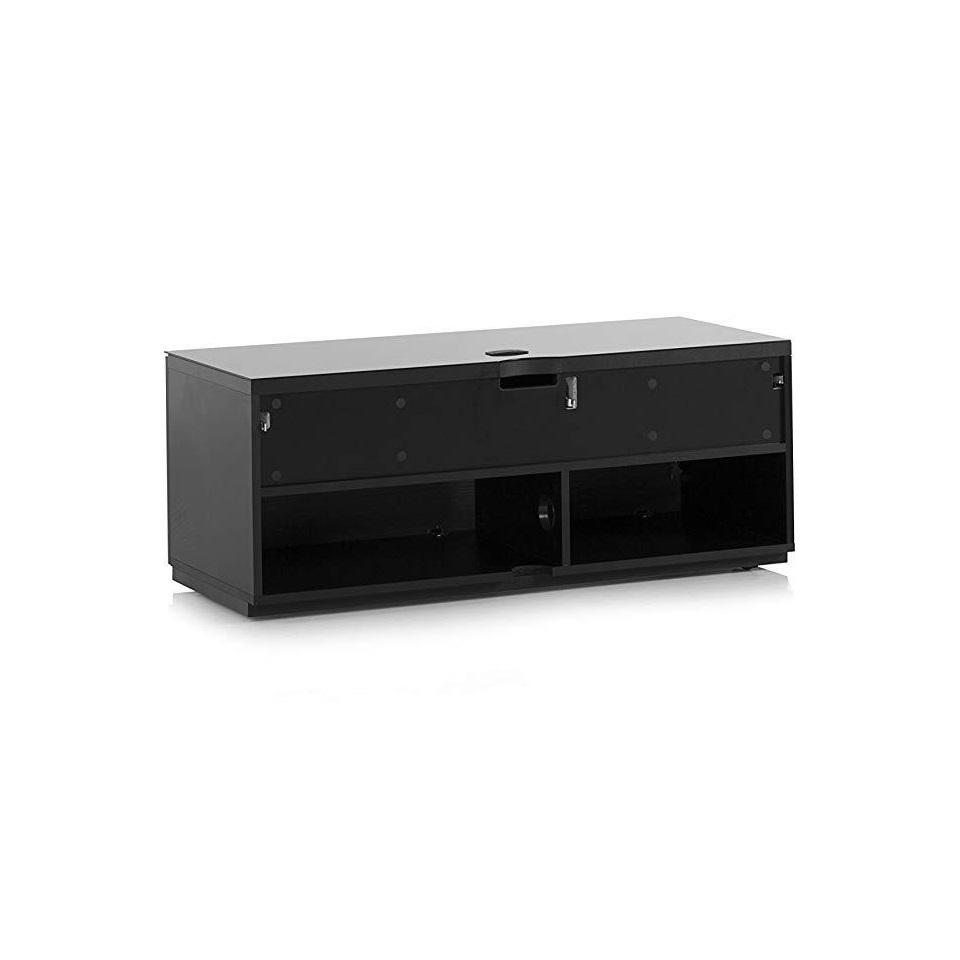 Тумба для ТВ Sonorous STA 110 черный корпус/черный фасад ДСП