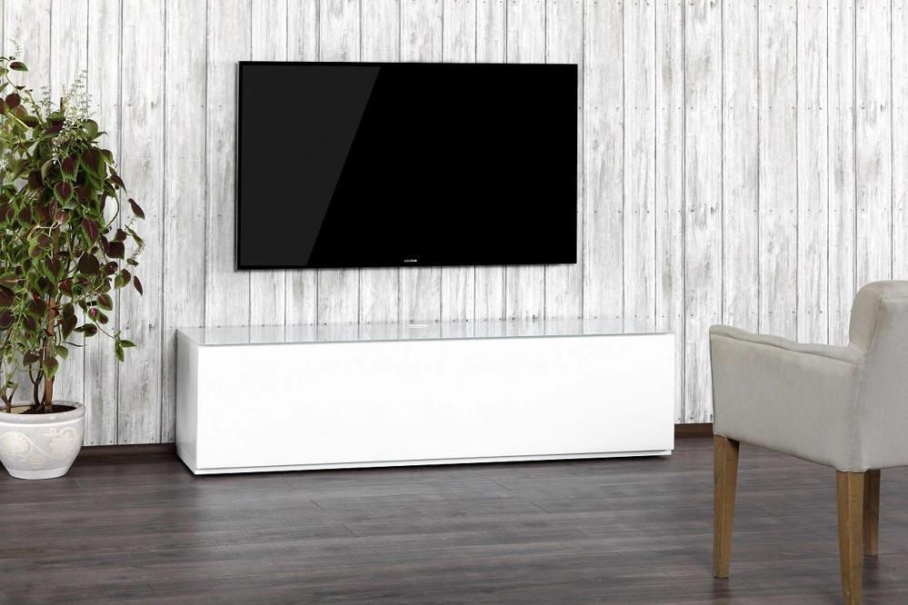 Тумба для ТВ Sonorous STA 160 белый корпус/фасад белое ДСП