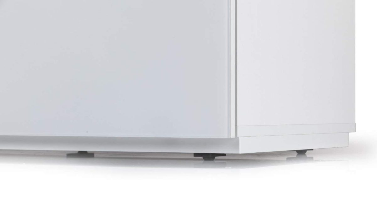 Тумба для ТВ с кронштейном Sonorous STA 110 белый корпус/фасад белое стекло