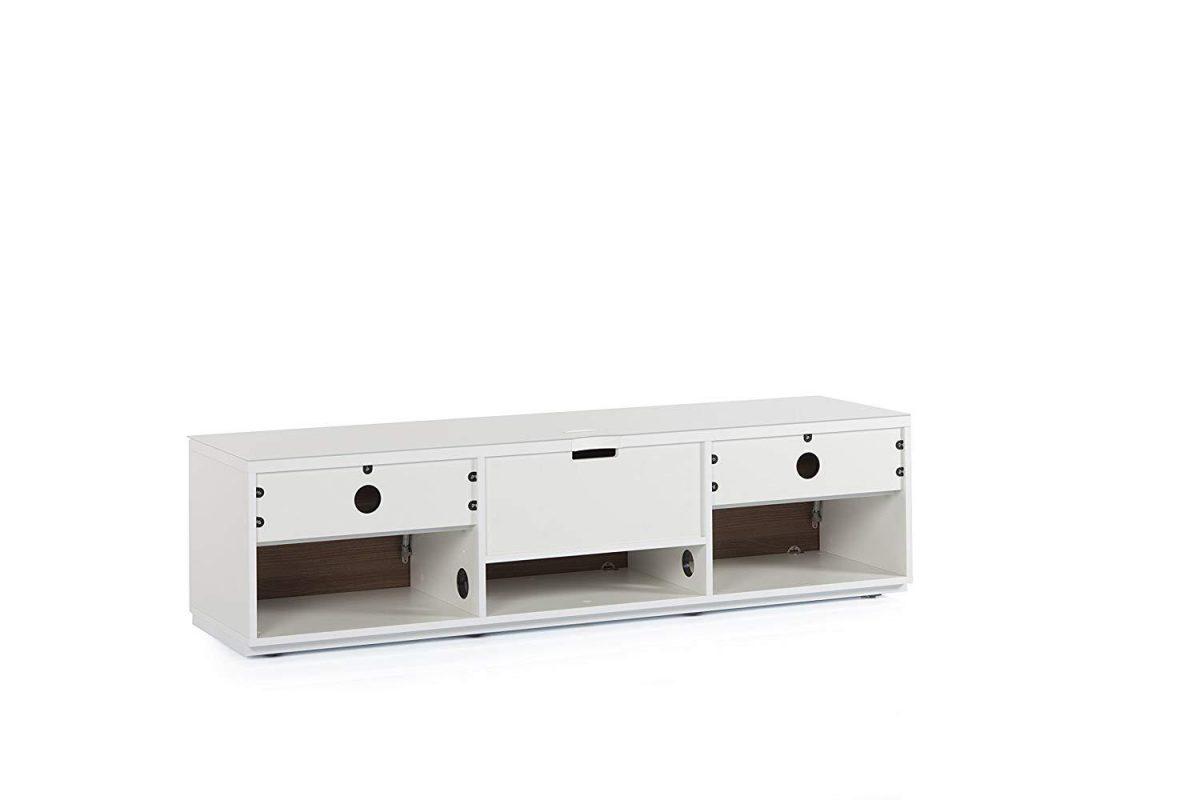 Тумба для ТВ Sonorous STA 160 белый корпус/фасад ОРЕХ