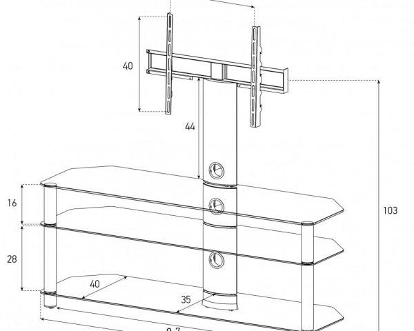 Sonorous NEO 1103-C-SLV-схема