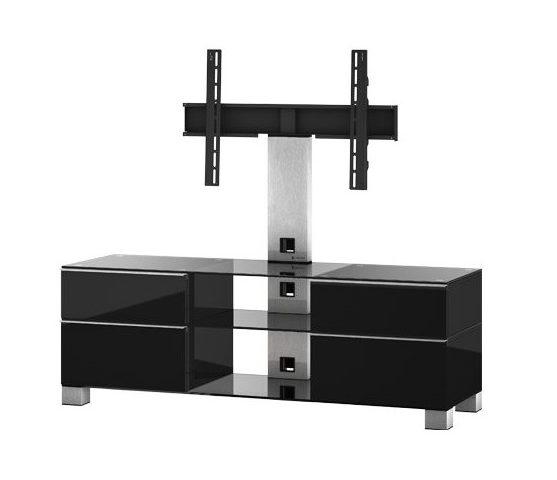 Тумба для ТВ с кронштейном Sonorous MD 8240-C-INX-BLK